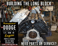 dodge 5.7 long block rebuild