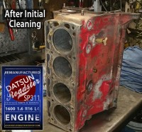 Datsun roadster 1600 Engine Block