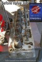 Datsun 1600 1.6 cylinder head