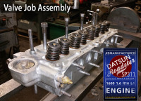 cylinder head repair datsun roadster 1.6