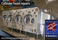 Datsun 1.6 cylinder head repair