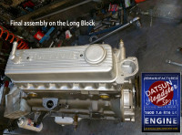Rebuilt Datsun Sp311 R16 engine