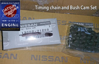 Datsun 1600 timing chain and bush cam set