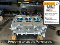 Smart car DOHC straight-3 cylinder head repair