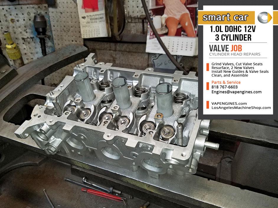 Smart Car 1 0 Dohc 12v 3 Cylinder Valve Job Head Repairs