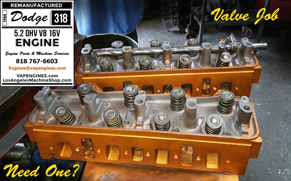 64 Dodge 318 Engine Rebuild Service - Machine Shop Photos