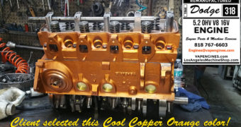 64 Dodge 318 Engine Rebuild Service