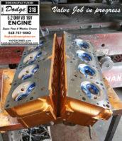 dodge 318 valve job