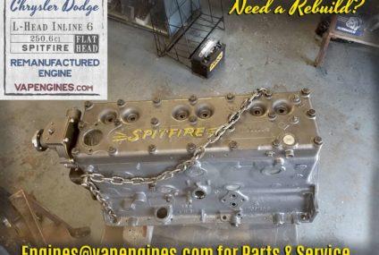 Chrysler 251 Flathead Inline-6 Spitfire Engine Rebuild