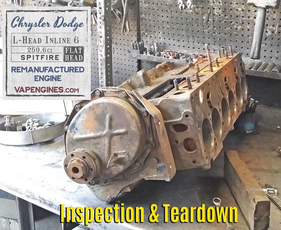 Chrysler Industrial Flathead Six Parts