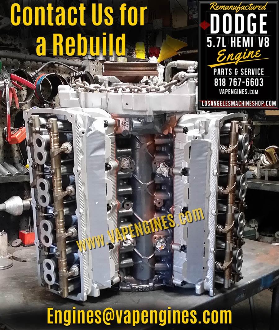 Chrysler Jeep Dodge Hemi 5.7 Remanufactured Engine