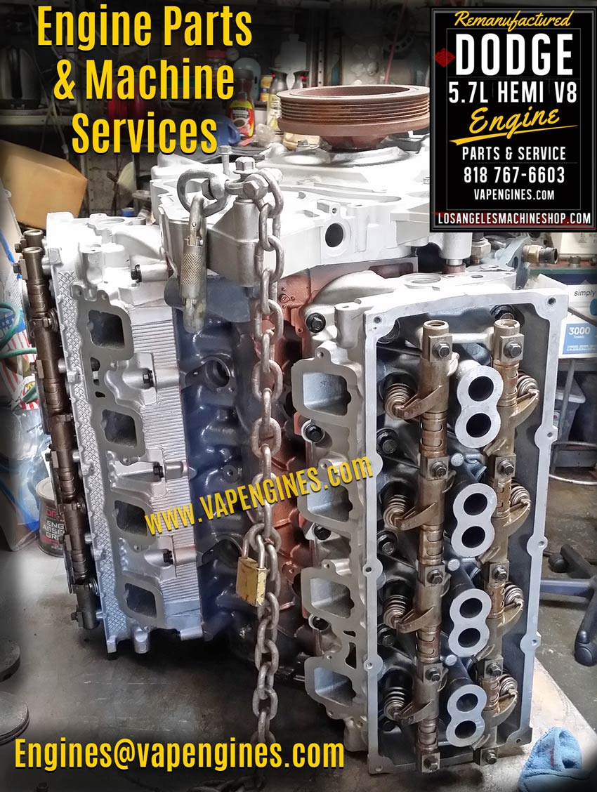 Dodge Hemi 5.7 Engine Builder Machine Shop
