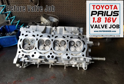 Toyota Prius 1.8 Before Valve job.
