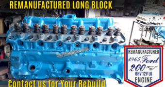 Remanufactured Ford 200 Straight-6 Engine