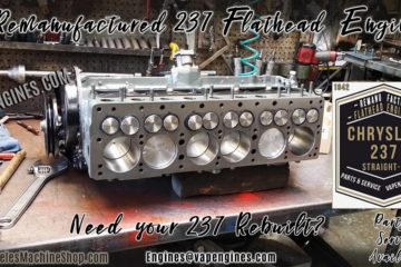 Chrysler Dodge 237 Flathead Straight-6 Engine Rebuild