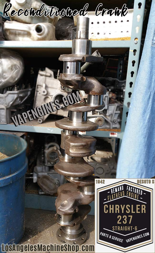 Chrysler Dodge 237 crankshaft