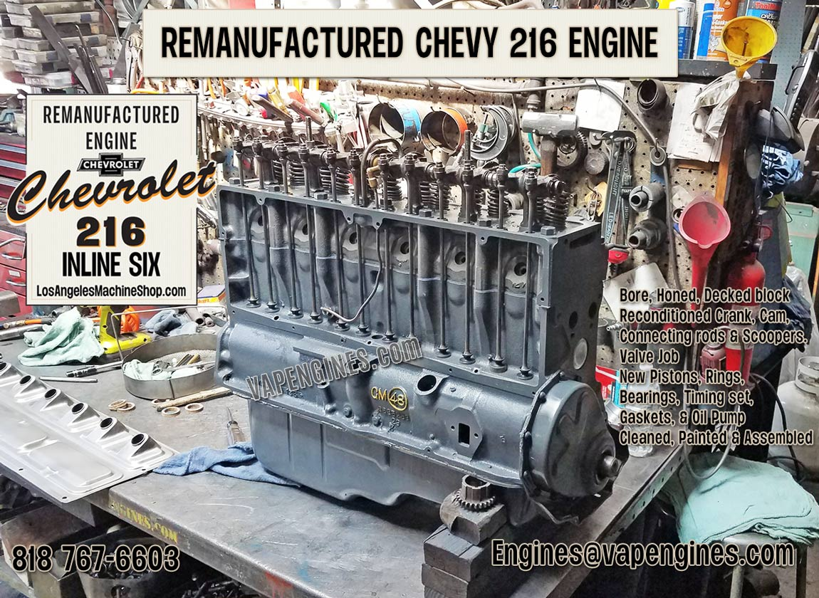 216 Chevy engine rebuild