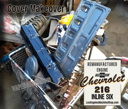 Chevy GM 216 Cover makeover