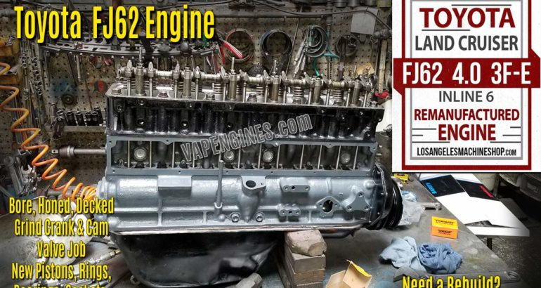Toyota Land Cruiser FJ62 3FE 4.0 Engine Rebuild
