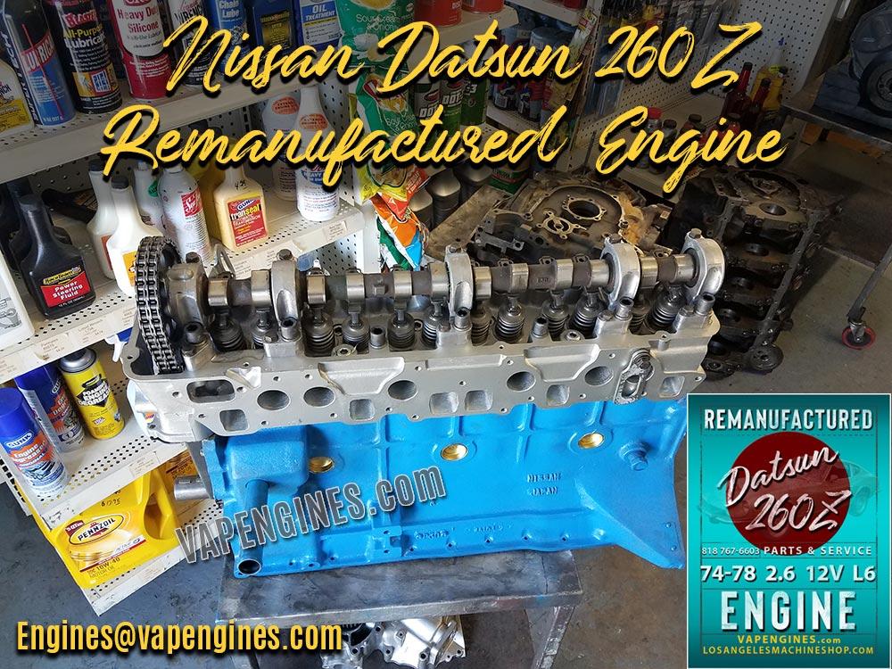 Nissan Datsun 260Z Engine Rebuild