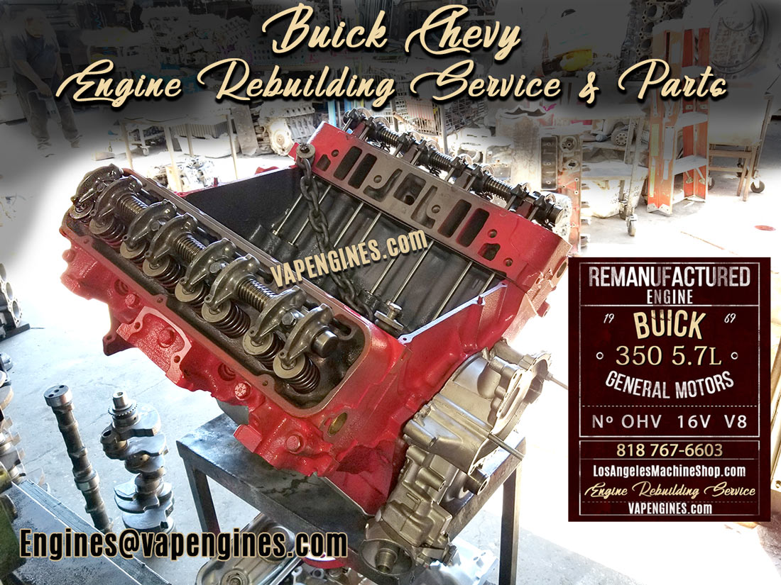 Buick 350 Engine Rebuild